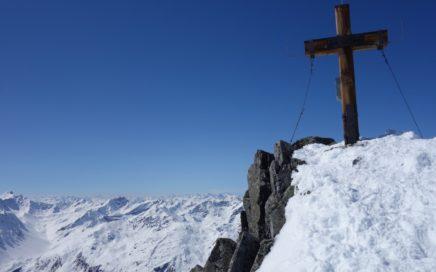 den Gipfel des Pitztaler K2.