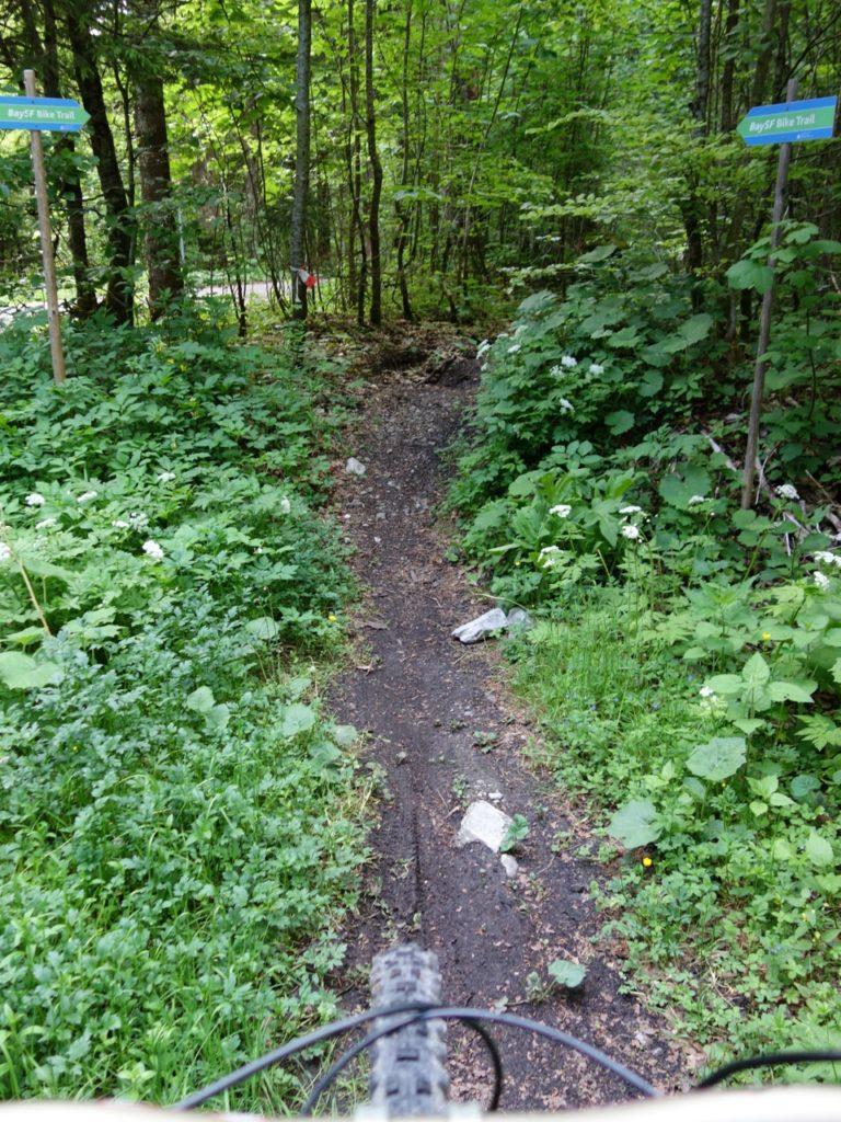 BaySF Bike-Trail, der einen bis zur