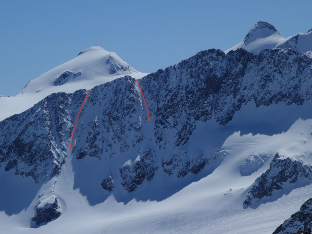 Stubai Steeps (3.332 m), Freeriden im Königreich des Schnees